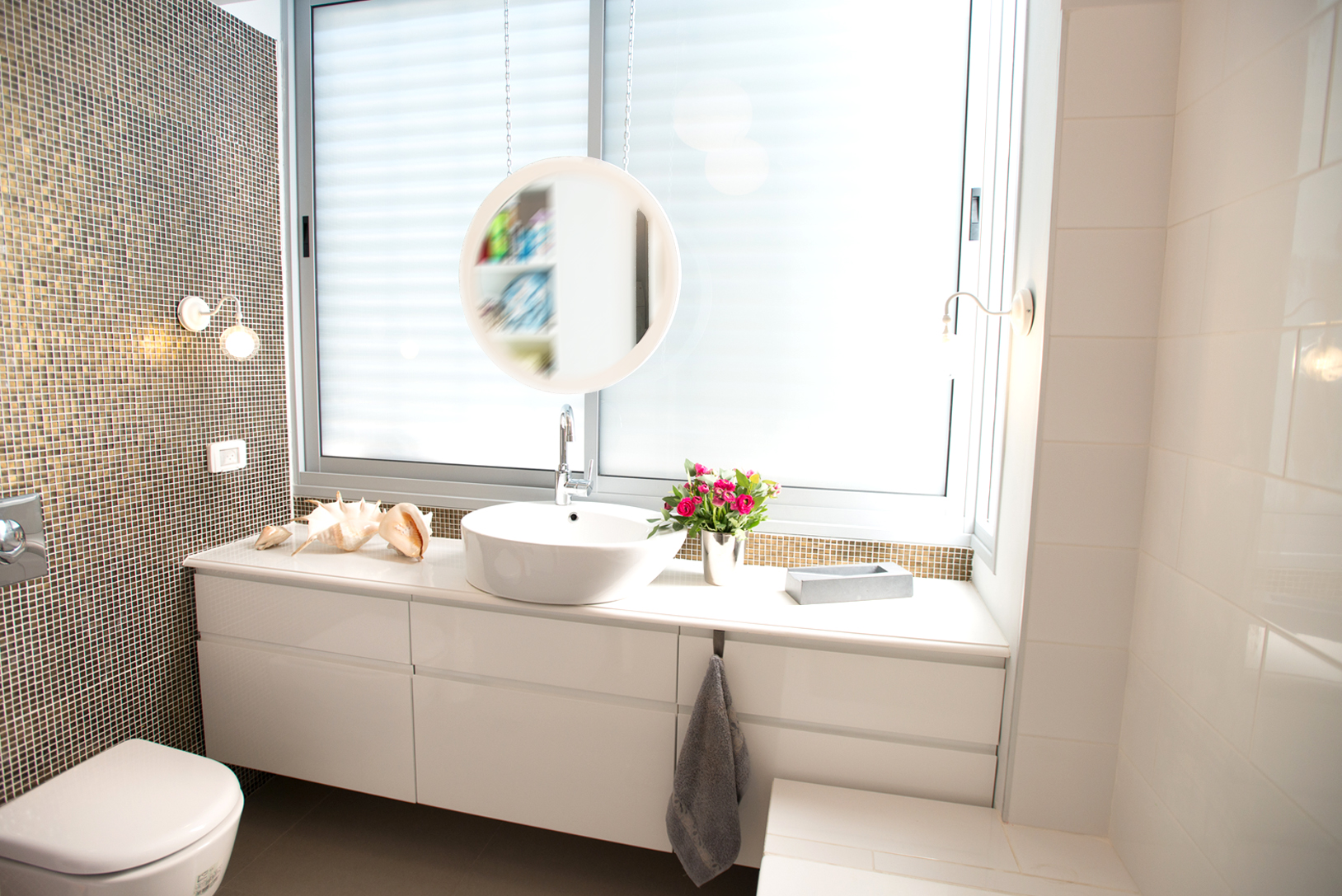 חדר אמבטיה תכנון אורבני מודרני עיצוב פנים