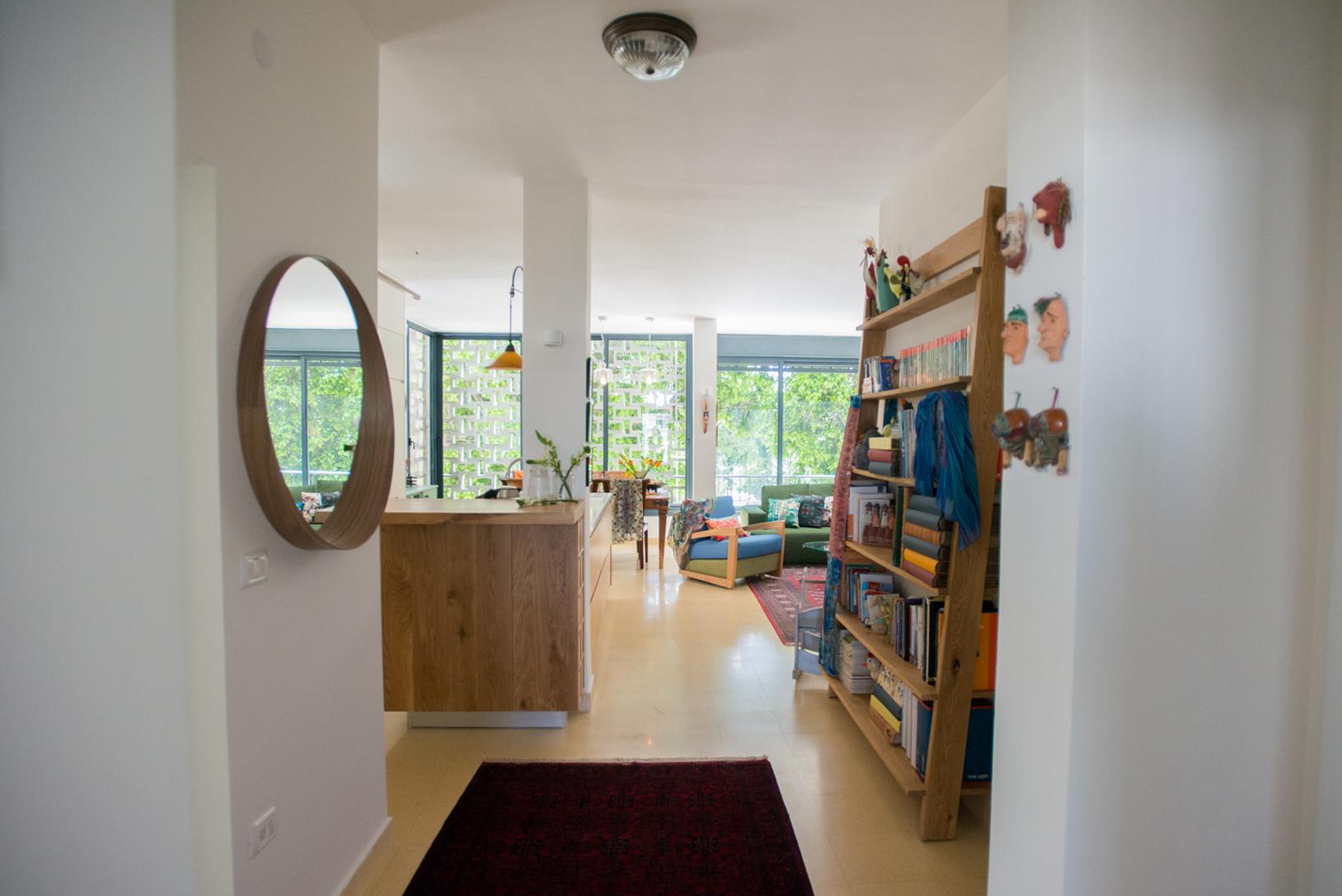 רחל ורשבסקי עיצוב פנים דירה תל אביב